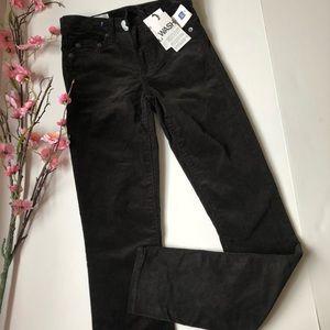 NWT GAP modern skinny black Corduroys 00